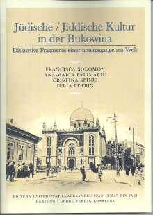 Francisca Solomon: Jüdische / Jiddische Kultur in der Bukowina, Buch