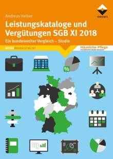 Andreas Heiber: Leistungskataloge und Vergütungen SGB XI 2018, Buch