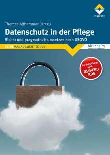 Thomas Althammer: Datenschutz in der Pflege, Buch