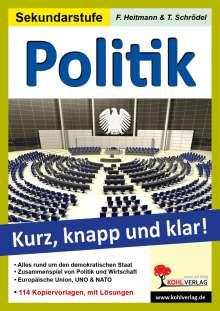 Friedhelm Heitmann: Politik - Grundwissen kurz, knapp und klar!, Buch