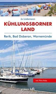 Jo Lüdemann: Reiseführer Kühlungsborner Land, Buch