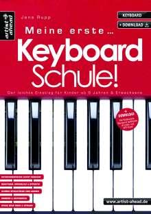 Jens Rupp: Meine erste Keyboardschule!, Buch