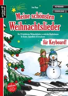 Jens Rupp: Meine schönsten Weihnachtslieder für Keyboard!, Buch