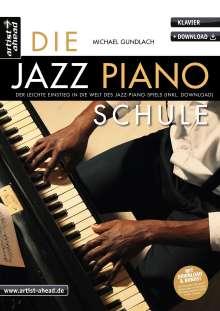 Michael Gundlach: Die Jazz-Piano-Schule, Buch