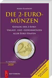 Mario Kamphoff: Die 2-Euro-Münzen, Buch