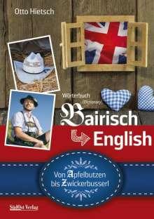 Otto Hietsch: Wörterbuch Bairisch - English, Buch