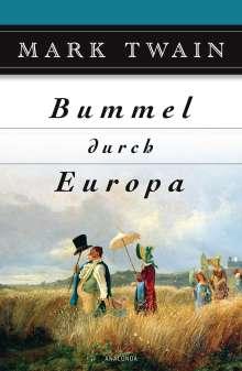 Mark Twain: Bummel durch Europa, Buch