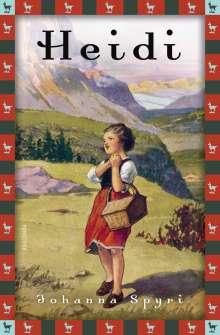 Johanna Spyri: Heidi - Vollständige Ausgabe. Erster und zweiter Teil., Buch