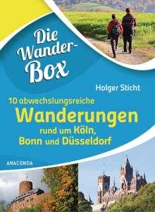 Holger Sticht: Die Wanderbox - 10 abwechslungreiche Wanderungen rund um Köln, Bonn und Düsseldorf, Buch