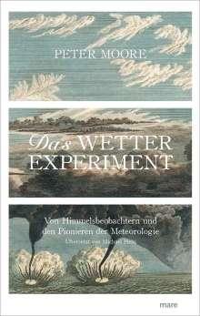 Peter Moore: Das Wetter-Experiment, Buch