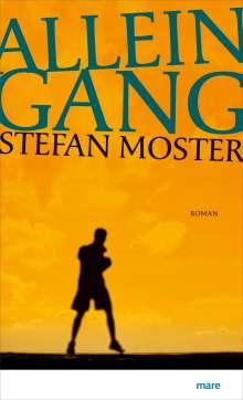 Stefan Moster: Alleingang, Buch