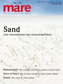 mare No. 123. Sand, Buch