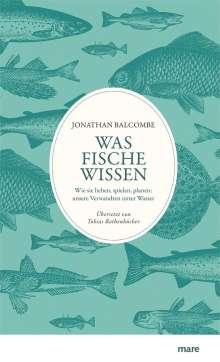 Jonathan Balcombe: Was Fische wissen, Buch