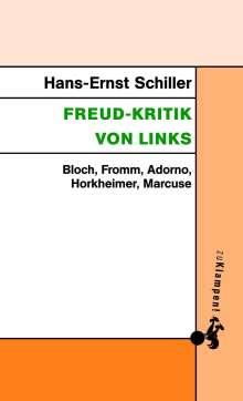 Hans-Ernst Schiller: Freud-Kritik von links, Buch