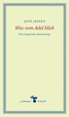 Jens Jessen: Was vom Adel blieb, Buch