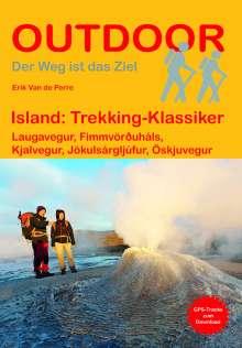 Erik van de Perre: Island: Trekking-Klassiker, Buch