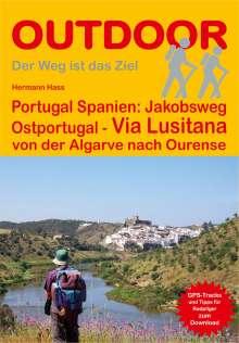 Hermann Hass: Portugal Spanien: Jakobsweg Ostportugal Via Lusitana, Buch