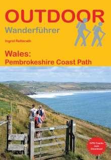 Ingrid Retterath: Wales: Pembrokeshire Coast Path, Buch