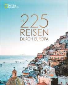 In 225 Reisen durch Europa, Buch