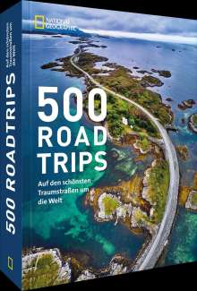 Geographic National: 500 Roadtrips, Buch