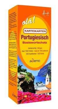 Karteikartenbox Basiswortschatz Portugiesisch Niveau A1, Buch