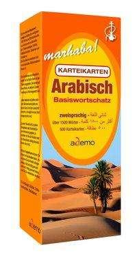 Karteikartenbox Basiswortschatz Arabisch Niveau A1, Buch