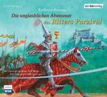 Karlheinz Koinegg: Die unglaublichen Abenteuer des Ritters Parzival, 2 CDs