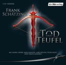Frank Schätzing: Tod und Teufel, 7 CDs