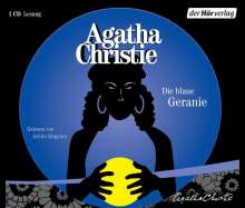 Agatha Christie: Die blaue Geranie, CD