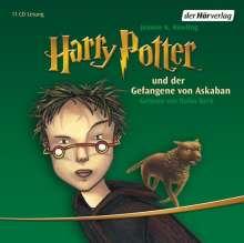Joanne K. Rowling: Harry Potter 3 und der Gefangene von Askaban, 11 CDs
