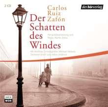 Carlos Ruiz Zafón: Der Schatten des Windes, 2 CDs