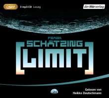 Frank Schätzing: Limit, 3 MP3-CDs