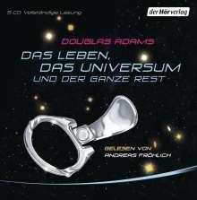 Douglas Adams: Das Leben, das Universum und der ganze Rest, 5 CDs