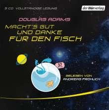 Douglas Adams: Macht's gut, und danke für den Fisch, 5 CDs