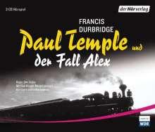 Francis Durbridge: Paul Temple und der Fall Alex, 3 CDs