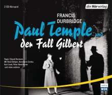 Francis Durbridge: Paul Temple und der Fall Gilbert, 4 CDs
