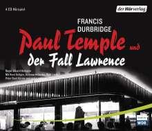 Francis Durbridge: Paul Temple und der Fall Lawrence, 4 CDs