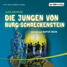 Oliver Hassencamp: Die Jungen von Burg Schreckenstein, 2 CDs