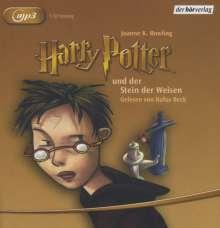 Joanne K. Rowling: Harry Potter 1 und der Stein der Weisen, MP3-CD