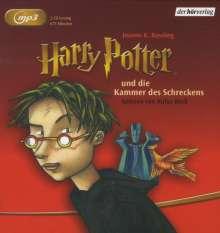 Joanne K. Rowling: Harry Potter 2 und die Kammer des Schreckens, 2 MP3-CDs