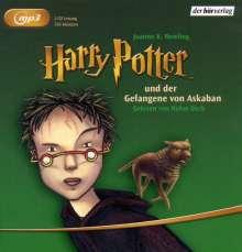 Joanne K. Rowling: Harry Potter 3 und der Gefangene von Askaban, 2 MP3-CDs