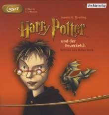 Joanne K. Rowling: Harry Potter 4 und der Feuerkelch, 2 MP3-CDs