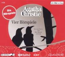 Agatha Christie: Vier Hörspiele, 4 CDs