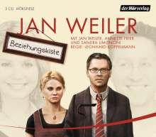 Jan Weiler: Beziehungskiste, 3 CDs