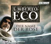 Umberto Eco (1932-2016): Der Name der Rose, 6 CDs