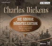 Charles Dickens: Die große Hörspieledition, 9 CDs