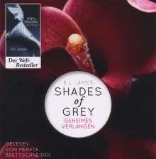 E L James: Shades of Grey 01. Geheimes Verlangen (MP3), 2 MP3-CDs
