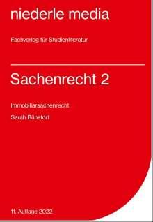Sarah Bünstorf: Sachenrecht 2, Buch