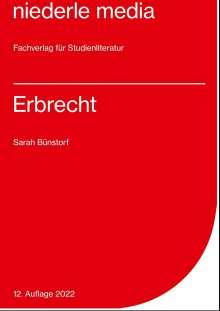 Sarah Bünstorf: Erbrecht, Buch