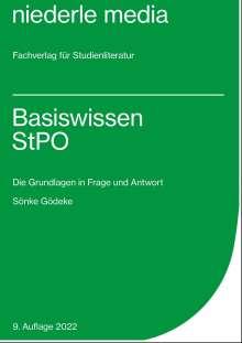 Sönke Gödeke: Basiswissen StPO, Buch